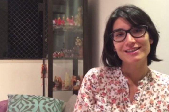 """Maria Clara Ruiz fala sobre """"vida e trabalho, um só valor"""""""