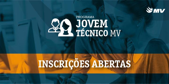 Inscrições abertas para o Projeto Jovem Técnico MV