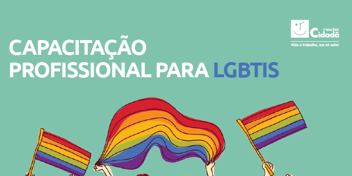 Capacitação profissional para LGBTIs