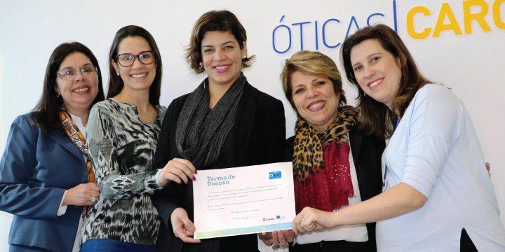Rede Cidadã e Óticas Carol fazem parceria para capacitar pessoas em situação de rua