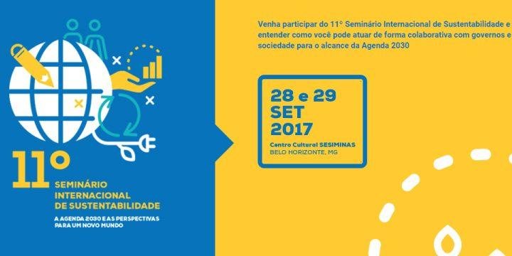 Rede Cidadã apoia o 11º Seminário Internacional de Sustentabilidade