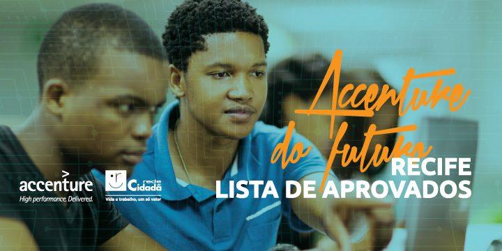 Accenture do Futuro: lista de aprovados