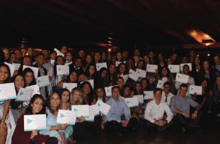 Start 2018 encerra com 65 jovens formandos