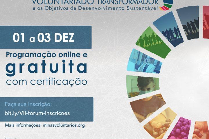 Rede Cidadã apoia VII Fórum Internacional sobre voluntariado
