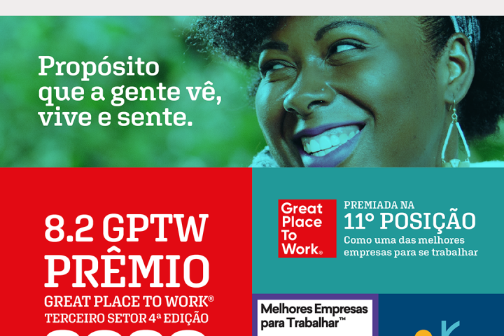 Rede cidadã é uma das melhores organizações para se trabalhar no Brasil