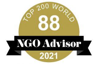 Rede Cidadã é a 88ª melhor ONG do mundo