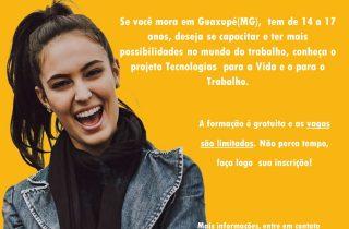 Projeto atende jovens de Guaxupé (MG)